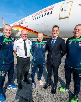 Three members of Dublin Airport's Fire Service will compete in this year's World Police and Fire Games