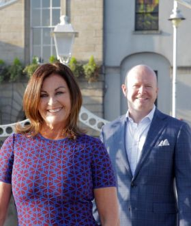 Jeanette Taylor and Ciaran Mulligan (Blue Insurance)