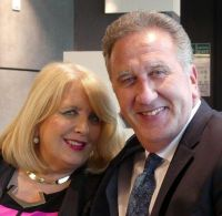 Delia Aston (MD Clubworld Travel) with Don Shearer (CEO Travelbiz)
