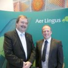John Keogh and Ivan Beacom (Aer Lingus)