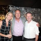 Liz Emmet (Head of Business Travel) with Don Shearer (Travelbiz) and Jim Tobin (FCm Travel Solutions