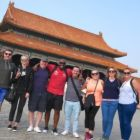 The gang at the Forbidden City