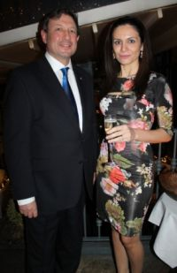 Peter Vella (Director UK & Ireland Malta Tourist Office) and Catherine Tabone (Executive Director Valletta 2018 Foundation)