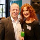 Ivan Beacom (Aer Lingus) and Valerie Murphy (Celebrity Cruises)