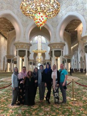 Michelle Anderson (Sunway), Sean McCarthy (Club Travel), Tanya Lieghio (Cassidy Travel) Ciara Lynch (WTC), Amanda O'Brien (Hayes & Jarvis), Lynne Keane (Travel Counsellors), Suzanne Knott (Tropical Sky) and Emma Lenanton (Yas Experience Abu Dhabi)