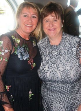 Ann Davis (Abbey Travel) and Clare Dunne (The Travel Broker)
