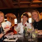I'm in the money! Marian Benton (MAP Travel), Gillian Lowry and Helen Kelly (Travel Counsellors)