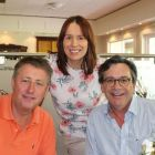 Barry Walsh (JWT), Isabel Harrison and Declan Power (both Shannon Airport)