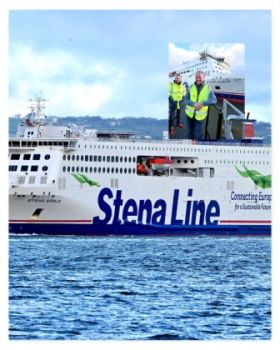 Stena Line's newest ship debuts on Rosslare - Cherbourg Route