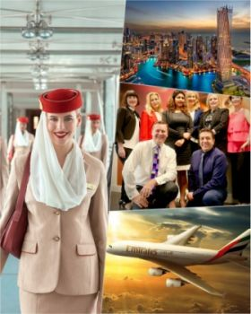 Emirates has become among the first airlines in the world to operate a flight with fully vaccinated frontline teams servicing customers at every touchpoint of the travel journey