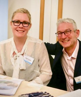 Rannveig Snorradottir and Alan Sparling (OBEO Travel)