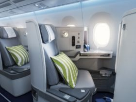 Award-winning business class cabin on Finnair A350