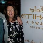 John Grehan (G Adventures) and Karen Maloney (Etihad)