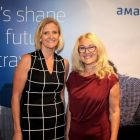 Liz Emmet (Head of Business Travel) with Trish O'Leary (Amadeus Ireland)