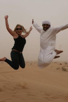 Colleen Butler (Bookabed) and Hasan (Sandman)