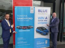 Ian Gamble (Toyota Sandyford) and Ciaran Mulligan (MD Blue Insurance)