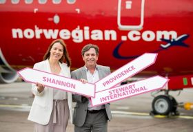 Declan Power and Isabel Harrison (Shannon Airport)