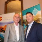 Richard Cullen (Killiney Travel) and Tony Lane (Executive Director Visit USA Committee)