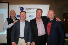 Alan, Ian, Don and Ciaran at the TPG Waterford roadshow