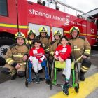 Benhaffaf twins get Shannon's special VIP treatment