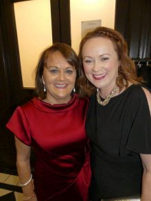 Cathy Burke and Bernie Whelan (Travel Counsellors)