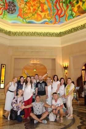 The Group at Atlantis Lost Chambers