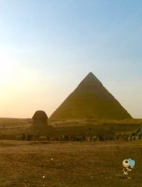 Visit Giza, the site of the iconic pyramids and Great Sphinx on the new direct service