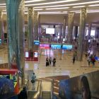 Dubai Airport Terminal Three. Silent and seamless business class experience.