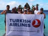 Flying the flag for Turkish Airlines