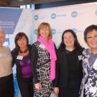 Fiona Foster with Susan Maxwell, Catherine Grennell Whyte, Teresa Gancedo and Maureen Ledwith