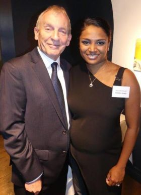 Greg Evans with Shanelle Shaam (Kimpton Hotels West Coast)
