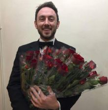 Prince Charming Charlie delivers Valentine TTC Roses and Chocs