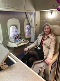 Anita Thomas (Emirates) Happy Birthday
