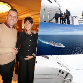 MSC Cruises took delivery of MSC Virtuosa, the latest highly-innovative, environmentally-conscious ship to join its fleet this week