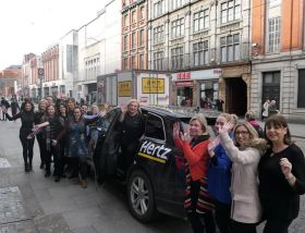 Travelbiz Hertz Ireland visits Tour America