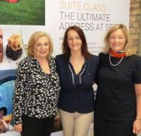 Polly Bond (Commercial Manager Tour America,) Jenny Rafter (Aer Lingus) and Mary Fennelly (BDM Cruise Holidays.ie)
