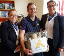 Joanne Conlon (Centre Travel), Craig Donnelly (A&G) and Karen Fegan (Centre Travel)