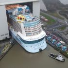 Royal Caribbean floats out Odyssey of the Seas ahead of its 2021 launch