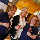 MSC Dee-side! Erica Oglesby and Rebbeca Kelly (MSC Cruises) with Dee Sweeney (Sunway)