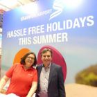 Mary with Declan Power (Shannon Airport) Holiday Show Limerick 2018