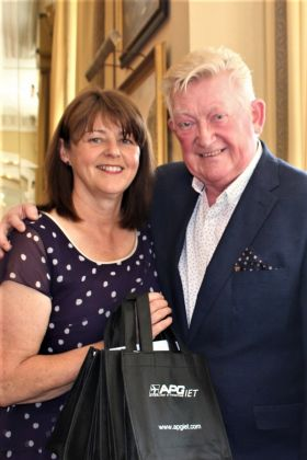 A huge Travelbiz congratulations to Paul King Nolan and Eileen Penrose (APG Ireland)