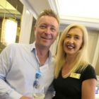 Dave O'Hagan (Donabate Travel) with Tryphavana Cross (The Las Vegas Convention & Visitors Authority)