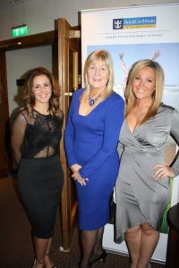 Michaela Banks, Jennifer Callister and Holly Wilkson (RCCL)