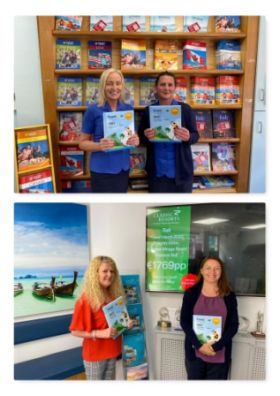 Cassidy Travel's doors are open and all the multi award-winning team are there to welcome back all their customers