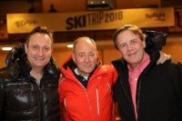Tony Collins with Mario Rosenstock and Ian Dempsey.   Topflight Today FM.