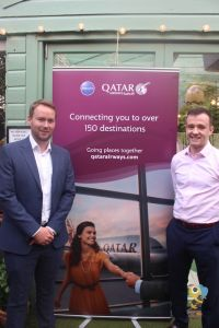 Patrick Mc Kinney and Jason Kearns (both Qatar Airways)