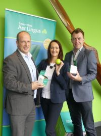 Ivan, Jenny and Dermot (Team Aer Lingus)