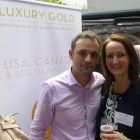 Paul Kelly (Cassidy Travel) and Jenny Rafter McCann (Aer Lingus)