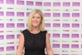 Mary McKenna wins business women of the year at the Inaugural 2017 Everywoman Travel Awards in London