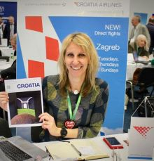 Irma McHardy (Croatian Airlines) launches Zagreb collaboration with Worldchoice.